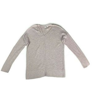 ⭐️ Gap V-Neck Pullover Sweater Tunic Oatmeal